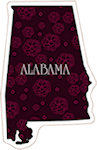 State of Alabama Magnets